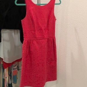 Erin Fetherston pink bow back dress
